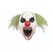 MASQUE INTÉGRAL LATEX CLOWN CANNIBAL ADULTE