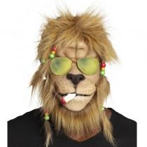 MASQUE INTÉGRAL LION RASTA