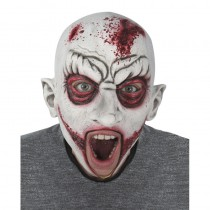 MASQUE INTÉGRAL ZOMBIE SANGLANT LATEX