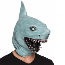 MASQUE LATEX VISAGE REQUIN