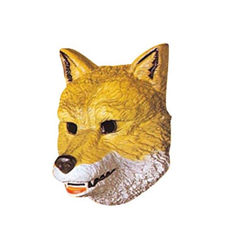Masque plastique loup enfant