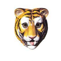 Masque plastique tigre enfant