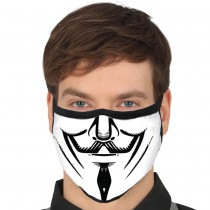 MASQUE PROTECTION LAVABLE ANONYMOUS ADULTE