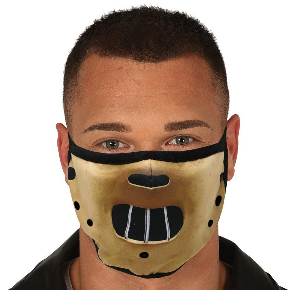 MASQUE PROTECTION LAVABLE HANNIBAL ADULTE