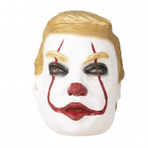 MASQUE TRUMPY LE CLOWN INTÉGRAL LATEX