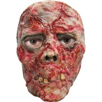 MASQUE ZOMBIE SANGLANT LATEX ADULTE