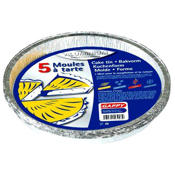 Moules  alu x 5 pièces