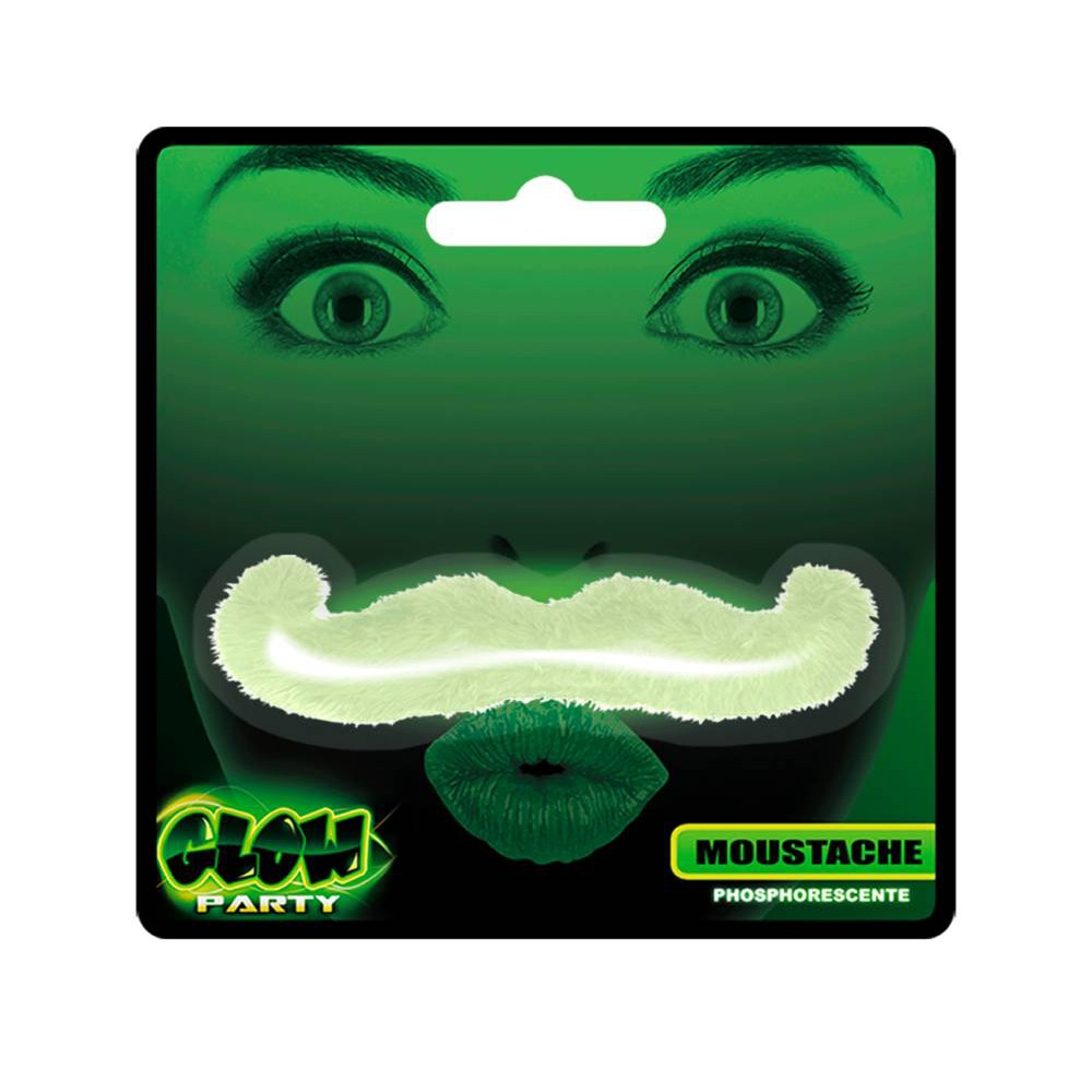 MOUSTACHE PHOSPHORESCENTE GLOW