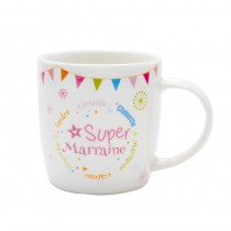 MUG GALAXY SUPER MARRAINE