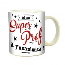 MUG SUPER PROF ROSE