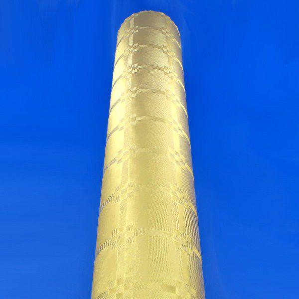 NAPPE DAMASSÉE  OR 1,20 X 20 M