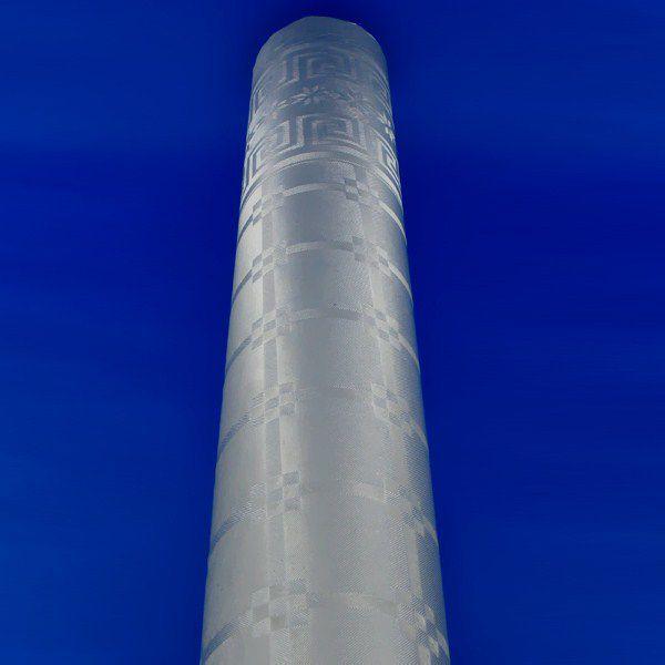 NAPPE DAMASSÉE ARGENT 1,20 X 20 M