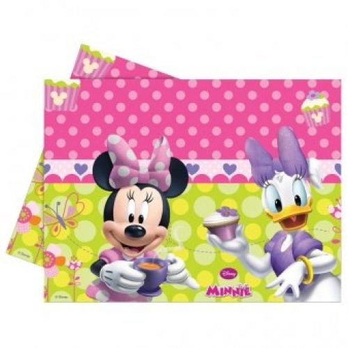NAPPE EN PLASTIQUE 120X180 MINNIE BOW