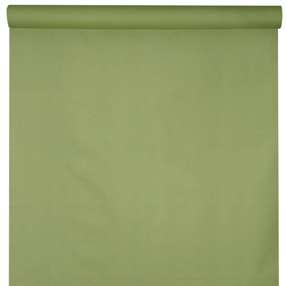 NAPPE INTISSÉE LUXE 65GR 10X1.2M - OLIVE