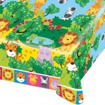 NAPPE PLASTIQUE 180X120 CM JUNGLE