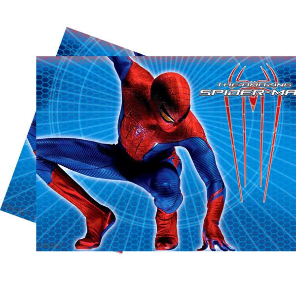 NAPPE PLASTIQUE SPIDERMAN ULT 120X180CM