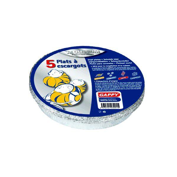 P à escargots en alu x 5 pièces