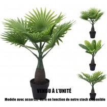 PALMIER ARTIFICIEL 9 BRANCHES 40CM