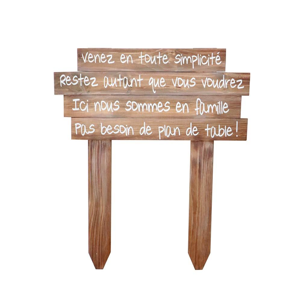 PANNEAU PAS PLAN DE TABLE 81X1X100CM