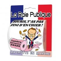 PAPIER TOILETTE RAIE PUBLIQUE