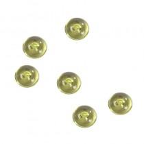 Perles de pluie verte