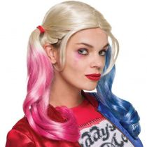 Perruque suicide squad Harley Quinn