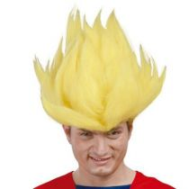 perruque dragon ball Z jaune