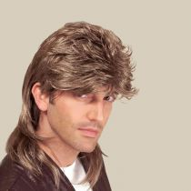 PERRUQUE MULLET LUXE