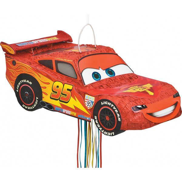 PINATA CARS MOVIE 3D