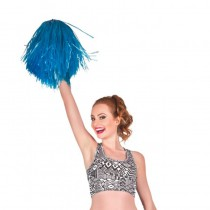 POMPON BLEU CHEERLEADER SUPPORTER