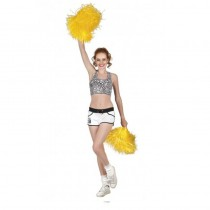 POMPON JAUNE CHEERLEADER SUPPORTER