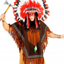 PONCHO INDIEN ADULTE
