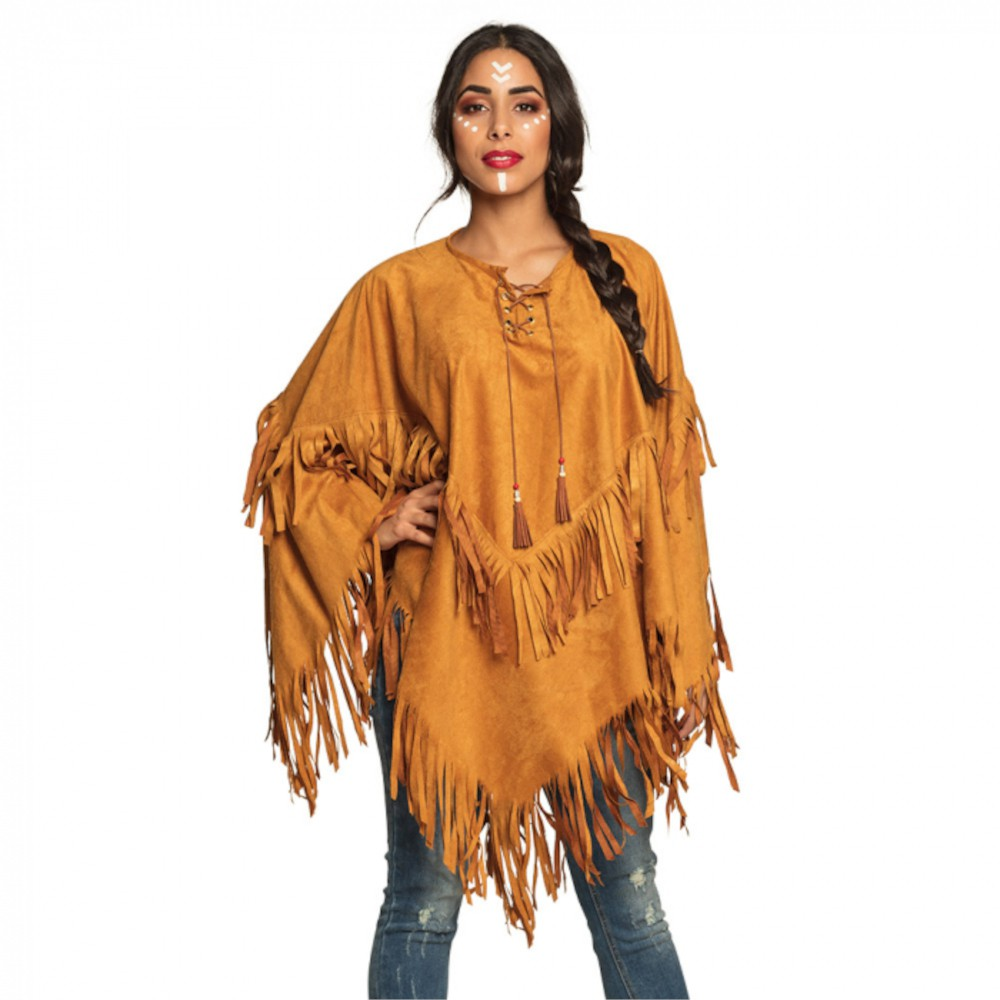 PONCHO INDIENNE