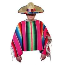 poncho mexicain