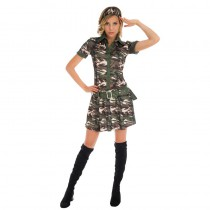 ROBE MILITAIRE FEMME