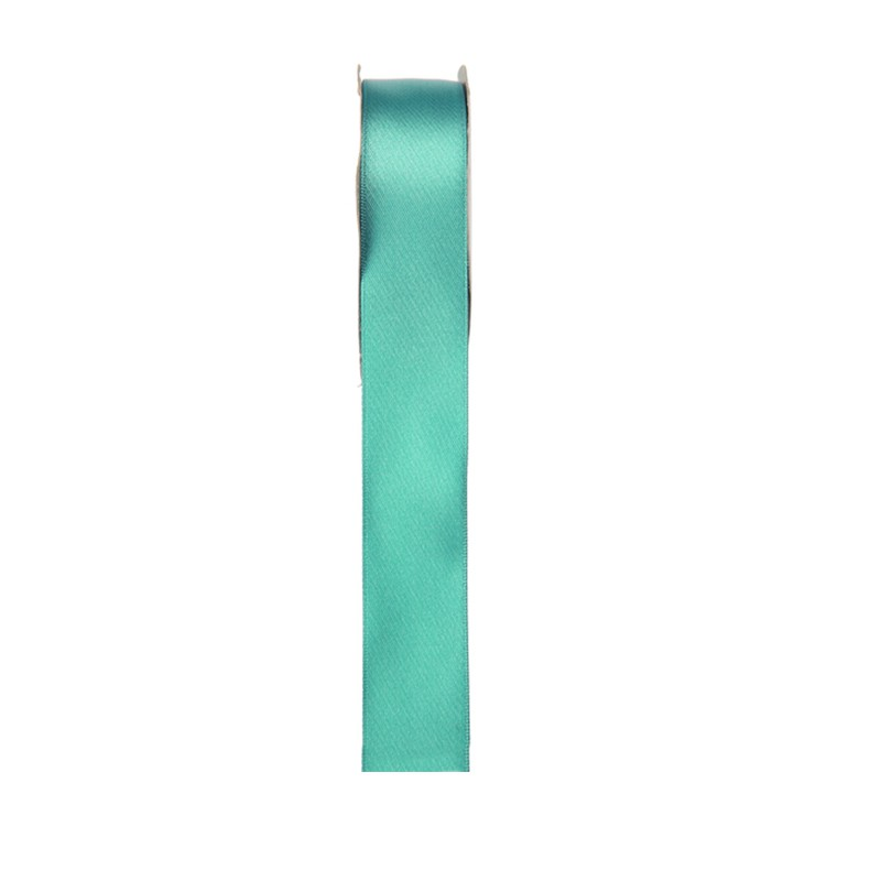 RUBAN SATIN DOUBLE FACE MENTHE 3 MM X 50 M