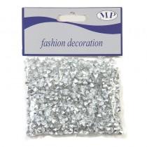 Décoration diamants 6 mm coloris argent