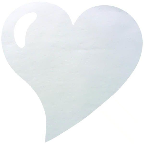 SET DE TABLE COEUR - BLANC