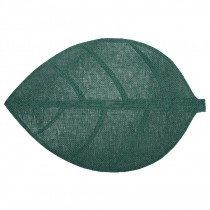 SET DE TABLE FEUILLE VERT 50X33CM