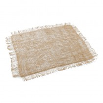 SET DE TABLE TOILE DE JUTE 40 X 30 CM