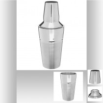SHAKER DOUBLE FINITION 21.5CM