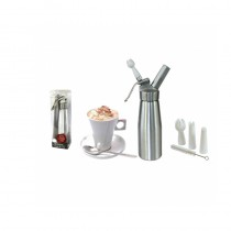 SIPHON MÉTAL LUXE 500ML CHAUD/FROID