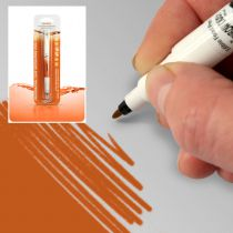STYLO ALIMENTAIRE DOUBLE MINE ROUGE