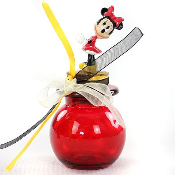 SUJET MINNIE ROUGE 4CM