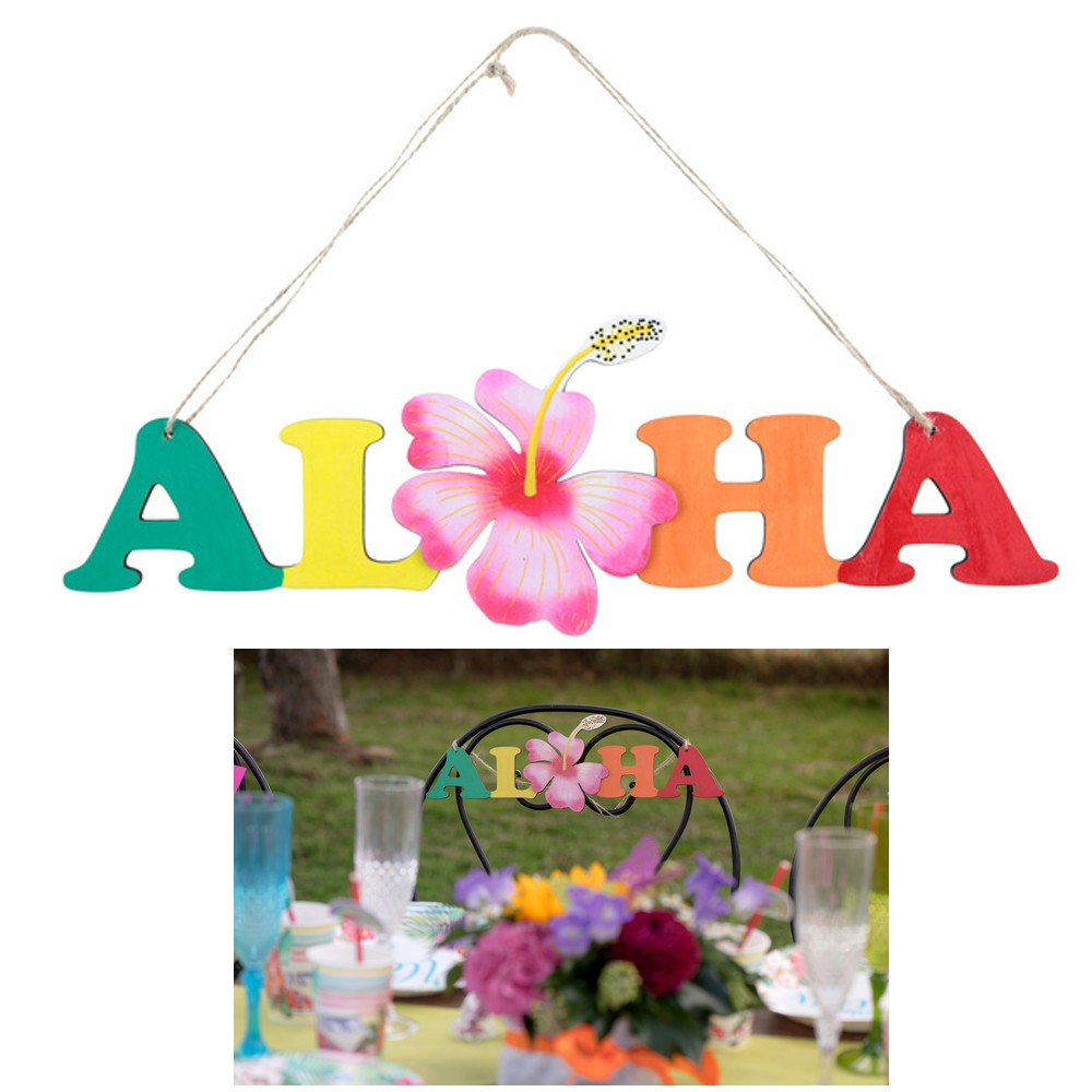 SUSPENSION ALOHA 38X39CM MULTICOLORE