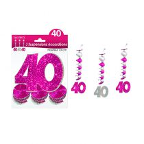 SUSPENSIONS ACCORDEONS 40 ANS  HOLO. ROS