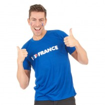 T-SHIRT I LOVE FRANCE TAILLE L