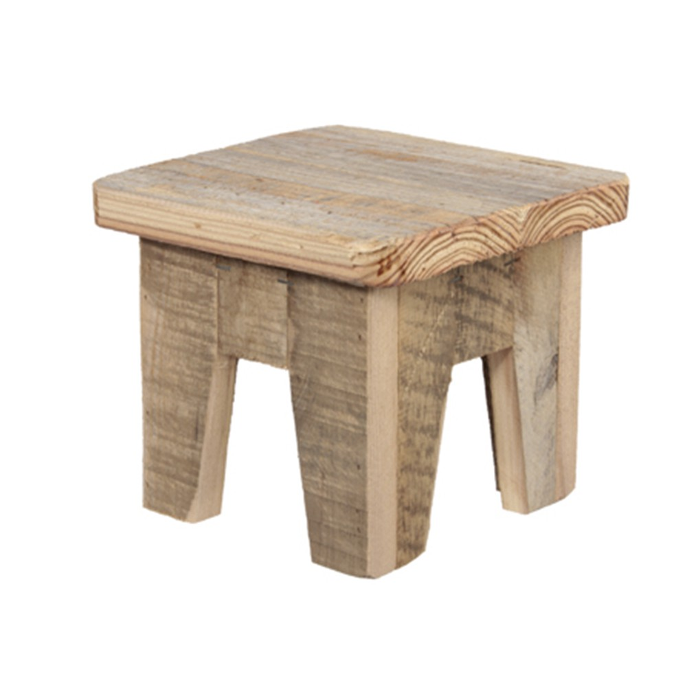TABLE BOIS 18X18X15.5CM