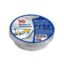 tartelettes en alu x 10 pièces
