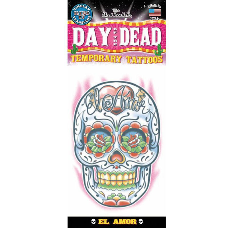 TATOUAGE DAY OF DEAD AMOUR